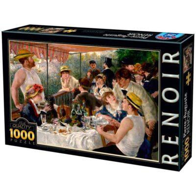 Puzzle Colazione Dei Canottieri Renoir 1000 Pezzi.jpg