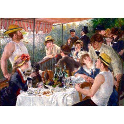 Puzzle Colazione Dei Canottieri Renoir 1000 Pezzi Immagine Dtoys.jpg