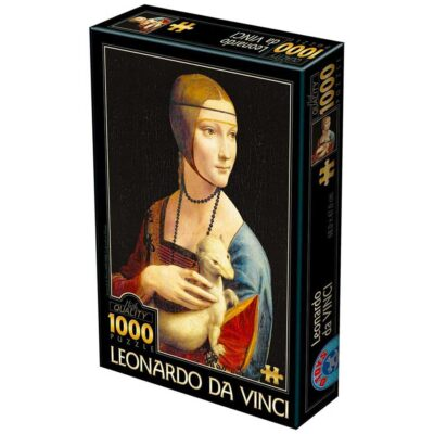 Puzzle Dama Con Lermellino Leonardo Da Vinci 1000 Pezzi Dtoys.jpg