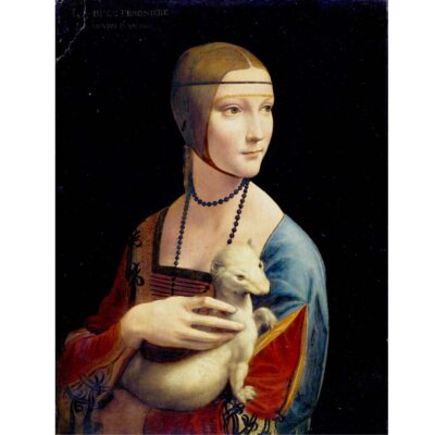 Puzzle Dama Con Lermellino Leonardo Da Vinci 1000 Pezzi Immagine Arte.jpg