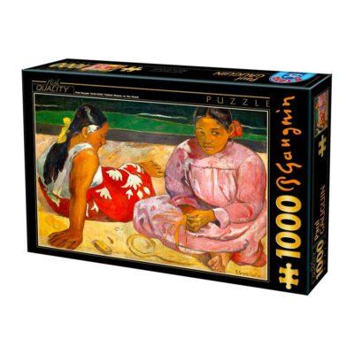 Puzzle Donne Tahitiane 1000 Pezzi Dtoys Arte.jpg