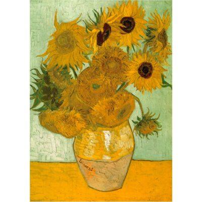 Puzzle Girasoli Van Gogh 1000 Pezzi Arte.jpg