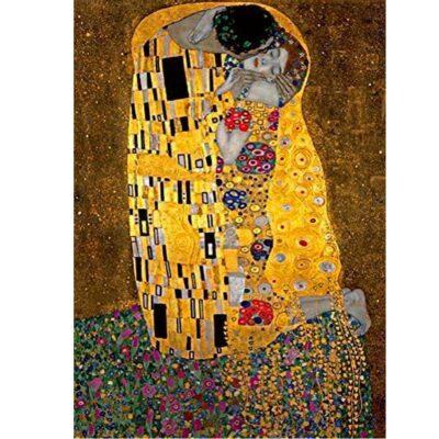 Puzzle Il Bacio Klimt Arte Dettaglio Immagine.jpg