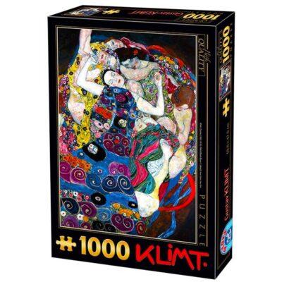Puzzle Klimt La Vergine 1000 Pezzi Dtoys.jpg
