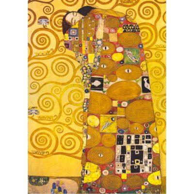 Puzzle Labbraccio Di Klimt 1000 Pezzi Immagine Dettaglio.jpg