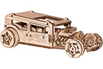 Puzzle Meccanici Wooden City Hotrod