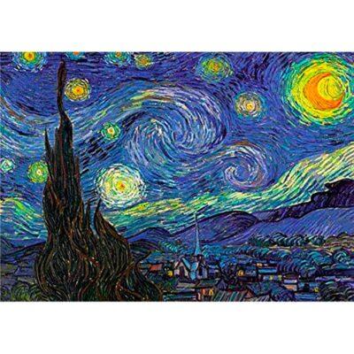 Puzzle Notte Stellata Dettaglio Dtoys 1000 Pz.jpg