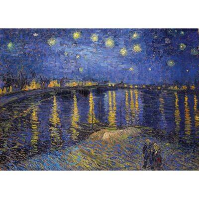 Puzzle Notte Stellata Sul Rodano Van Gogh 1000 Pezzi Dtoys Immagine.jpg