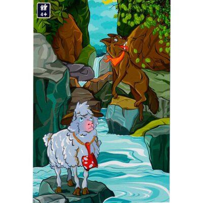 Puzzle Per Bambini 4 Anni 100 Pezzi La Fontaine Dtoys.jpg