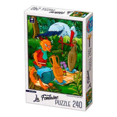 Puzzle Per Bambini 5 Anni 240 Pezzi La Volpe E La Cicogna.jpg