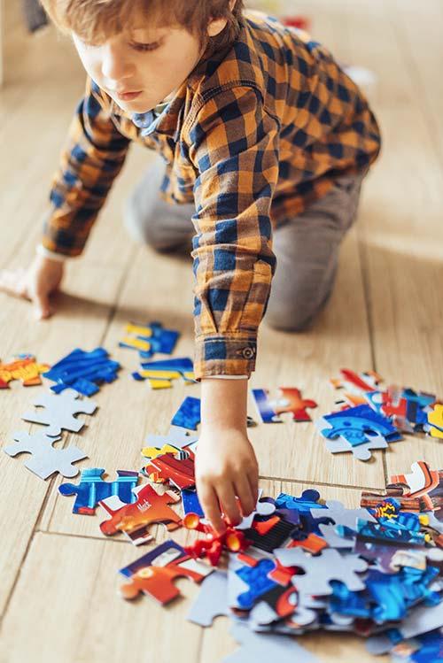 Puzzle Per Bambini Gioco