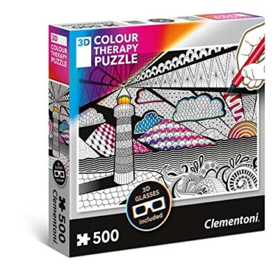 Clementoni Color Light Therapy Puzzle 3d 500 Pezzi 35052 0